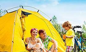 Ailenizle kampa giderken