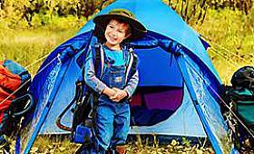 Çocuklarınızla ilk kampınızda bilmeniz gerekenler
